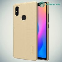 NILLKIN Super Frosted Shield Клип кейс накладка для Xiaomi Mi 8 SE - Золотой