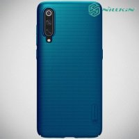 NILLKIN Super Frosted Shield Клип кейс накладка для Xiaomi Mi 9 / Mi 9 Explore - Зеленый