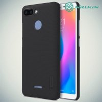 NILLKIN Super Frosted Shield Клип кейс накладка для Xiaomi Redmi 6 - Черный