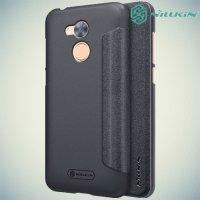 Nillkin ультра тонкий чехол книжка для Huawei Honor 6A - Sparkle Case Серый