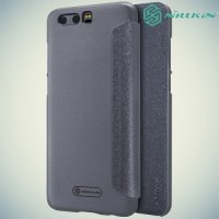 Nillkin ультра тонкий чехол книжка для Huawei Honor 9 - Sparkle Case Серый
