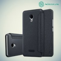 Nillkin ультра тонкий чехол книжка для Meizu m5 - Sparkle Case Серый