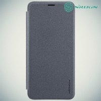 Nillkin ультра тонкий чехол книжка для Meizu M6s - Sparkle Case Серый