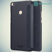 Nillkin ультра тонкий чехол книжка для Xiaomi Mi Max 2 - Sparkle Case Серый