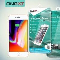 OneXT Закаленное защитное стекло для iPhone 8