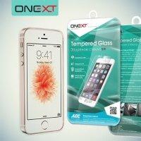 OneXT Закаленное защитное стекло для iPhone SE
