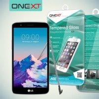 OneXT Закаленное защитное стекло для LG Stylus 3 M400DY