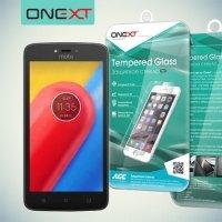 OneXT Закаленное защитное стекло для Motorola Moto C Plus