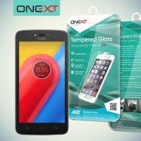 OneXT Закаленное защитное стекло для Motorola Moto C