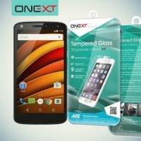 OneXT Закаленное защитное стекло для Motorola Moto X Force