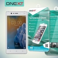 OneXT Закаленное защитное стекло для Nokia 3