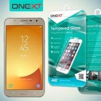 OneXT Закаленное защитное стекло для Samsung Galaxy J7 Neo
