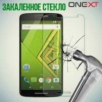 OneXT Закаленное защитное стекло для Motorola Moto X Play