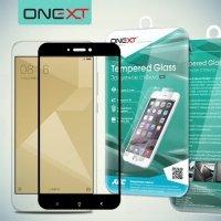 OneXT Защитное стекло для Xiaomi Redmi 4X на весь экран - Черный