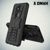 ONYX Противоударный бронированный чехол для Asus Zenfone 5 Lite ZC600KL - Черный
