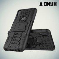 ONYX Противоударный бронированный чехол для Asus Zenfone Max Pro (M1) ZB601KL / ZB602KL- Черный