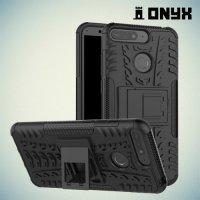 ONYX Противоударный бронированный чехол для Huawei Honor 7A Pro / 7C / Y6 Prime 2018 - Черный