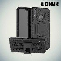 ONYX Противоударный бронированный чехол для Huawei Honor 8X - Черный 62f7a4ea0bb0b