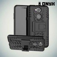 ONYX Противоударный бронированный чехол для LG X Power 3 - Черный