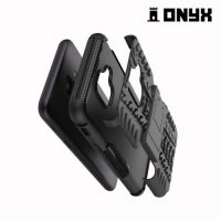 ONYX Противоударный бронированный чехол для Samsung Galaxy A6 2018 SM-A600F - Черный