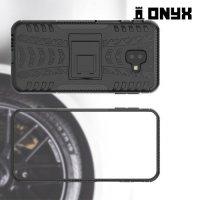 ONYX Противоударный бронированный чехол для Samsung Galaxy J6 Plus - Черный