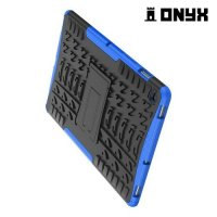 ONYX Противоударный бронированный чехол для Samsung Galaxy Tab S5e SM-T720 - Синий