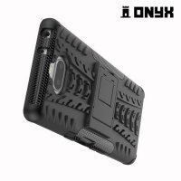 ONYX Противоударный бронированный чехол для Sony Xperia 10 - Черный