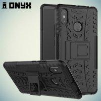 ONYX Противоударный бронированный чехол для Xiaomi Mi Max 3 - Черный