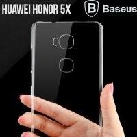 Пластиковый прозрачный чехол BASEUS для Huawei Honor 5X
