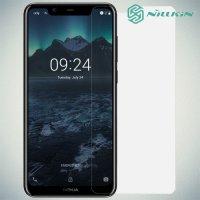 Противоударное закаленное стекло на Nokia 5.1 Plus Nillkin Amazing 9H