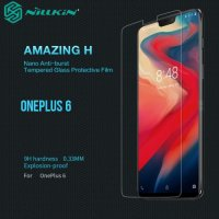 Противоударное закаленное стекло на OnePlus 6 Nillkin Amazing 9H