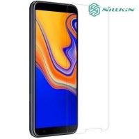 Противоударное закаленное стекло на Samsung Galaxy J4 Plus Nillkin Amazing 9H