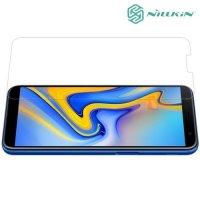 Противоударное закаленное стекло на Samsung Galaxy J6 Plus Nillkin Amazing 9H