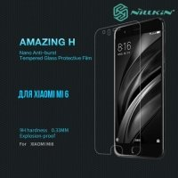 Противоударное закаленное стекло на Xiaomi Mi 6 Nillkin Amazing 9H