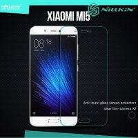 Противоударное закаленное стекло на Xiaomi Mi5 Nillkin Amazing 9H