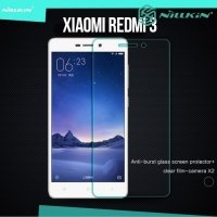 Противоударное закаленное стекло на Xiaomi Redmi 3 Nillkin Amazing 9H