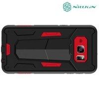 Противоударный чехол NILLKIN Defender II для Samsung Galaxy S6 edge Plus G928 - Красный