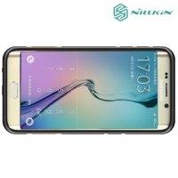 Противоударный чехол NILLKIN Defender II для Samsung Galaxy S6 edge Plus G928 - Оранжевый