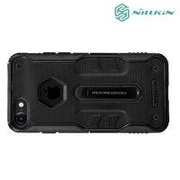 NILLKIN Defender 4 Противоударный чехол для iPhone 8 Plus / 7 Plus - Черный