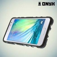 Противоударный защитный чехол для Samsung Galaxy A3 - черный