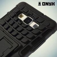 Противоударный защитный чехол для Samsung Galaxy A5 - черный