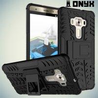 Противоударный защитный чехол для Asus Zenfone 3 Deluxe ZS570KL - Черный