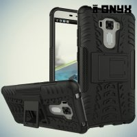 Противоударный защитный чехол для Asus Zenfone 3 Laser ZC551KL - Черный