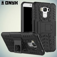 Противоударный защитный чехол для Asus ZenFone 3 Max ZC553KL - Черный
