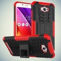 Противоударный защитный чехол для ASUS ZenFone Max ZC550KL - Красный