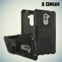 Противоударный защитный чехол для Huawei Honor 6x - Черный
