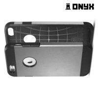 Противоударный защитный чехол для iPhone 6S / 6  - Серый