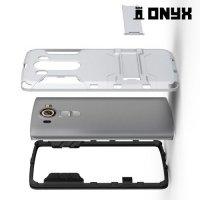 Противоударный защитный чехол для LG V10 - Серебряный