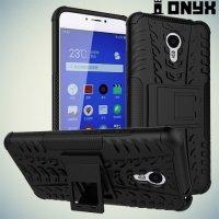 Противоударный защитный чехол для Meizu M3 Note - Черный
