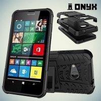 Противоударный защитный чехол для Microsoft Lumia 550 - Черный